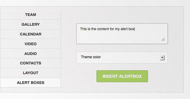 alertbox