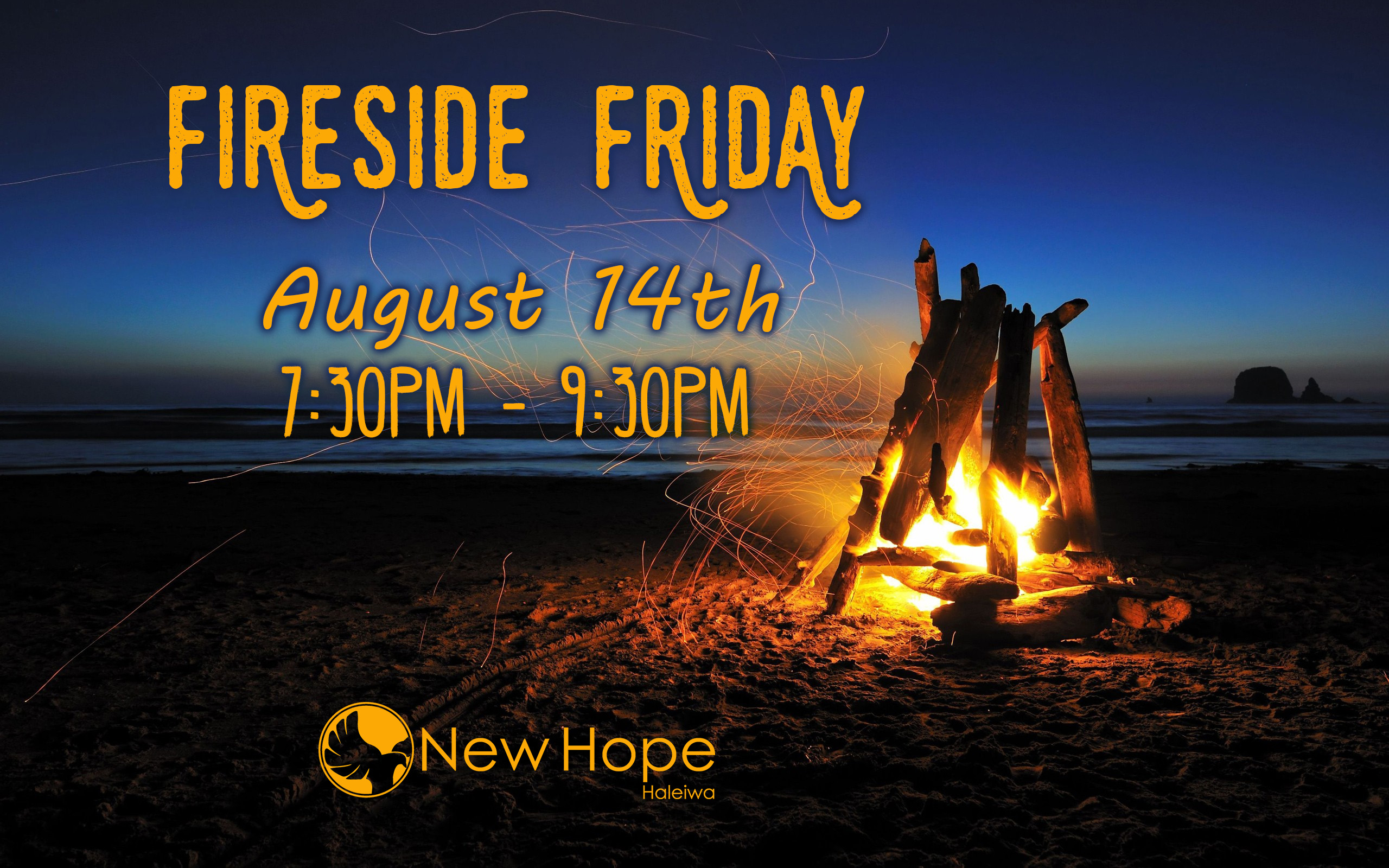 Fireside Friday Announcement